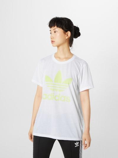 ADIDAS ORIGINALS Shirt in weiß: Frontalansicht