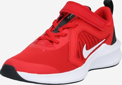 NIKE Chaussure de sport 'Downshifter 10' en rouge / blanc, Vue avec produit
