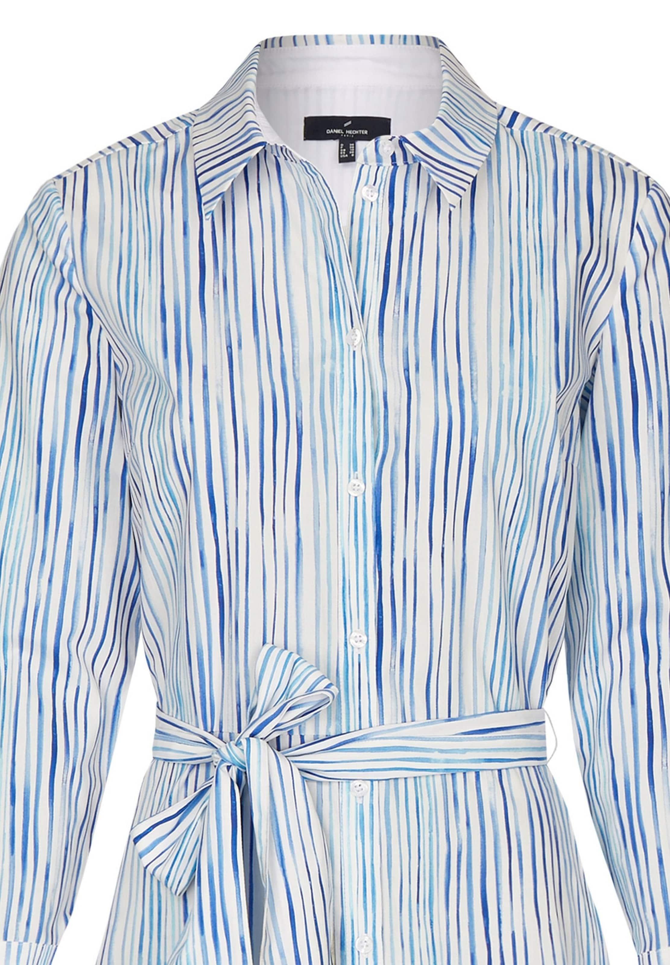Hechter Blusenkleid In Daniel Weiß BlauHellblau kwOPn0