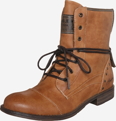 MUSTANG Lace-up bootie in cognac, Item view