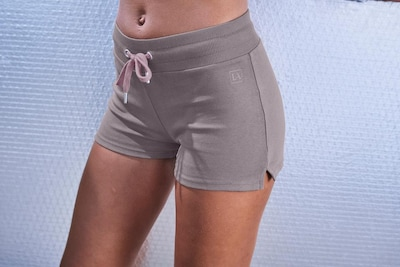 LASCANA ACTIVE Shorts in stone, Modelansicht