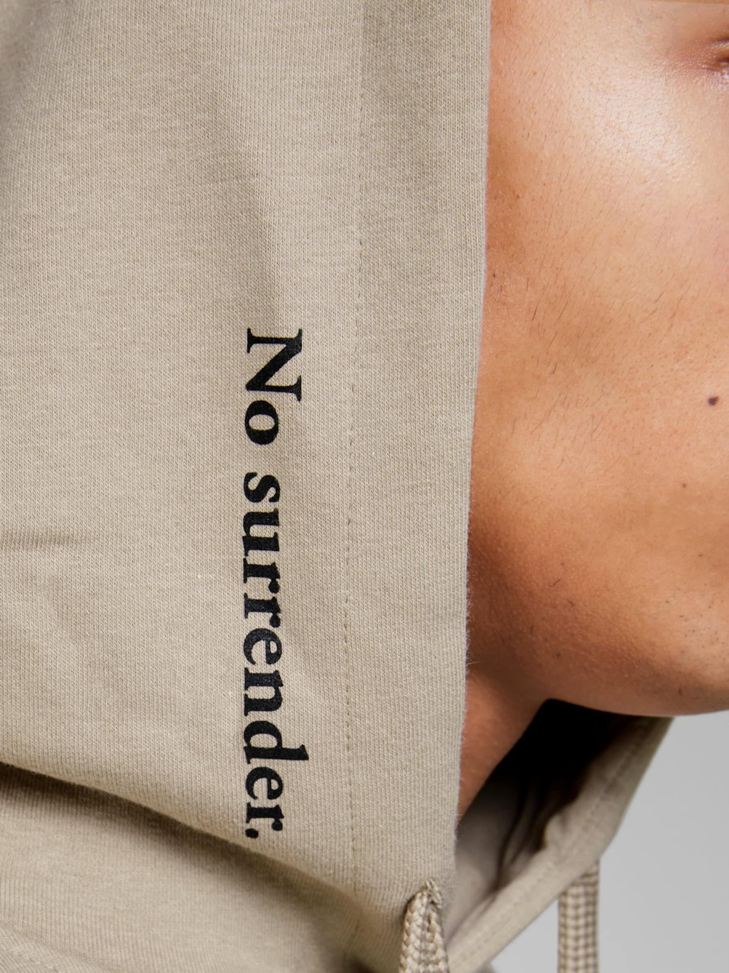 Noir Jones Jackamp; Sweat Néon shirt En TaupeRouge 29HIWDE