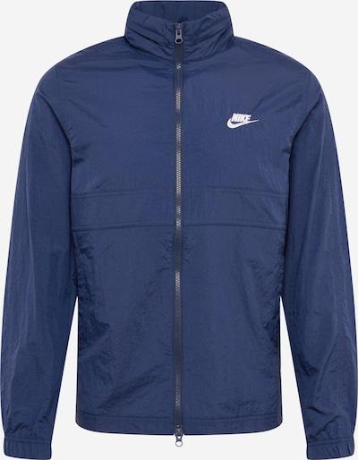 Nike Sportswear Kurtka przejściowa w kolorze granatowym: Widok z przodu
