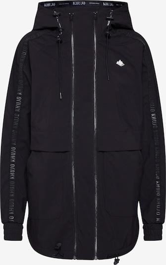 khujo Jacke 'Maarit' in schwarz, Produktansicht
