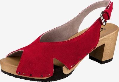 SOFTCLOX Wiebke Klassische Sandaletten in rot, Produktansicht