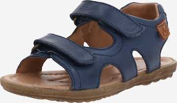 NATURINO Sandals & Slippers 'Sky' in Blue