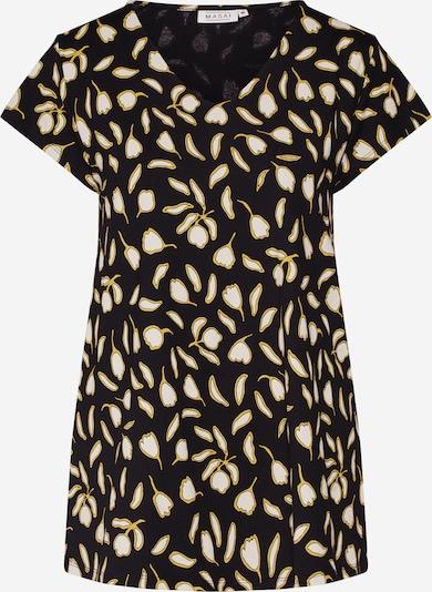 Masai Shirt 'Digna' in de kleur Crème / Zwart, Productweergave