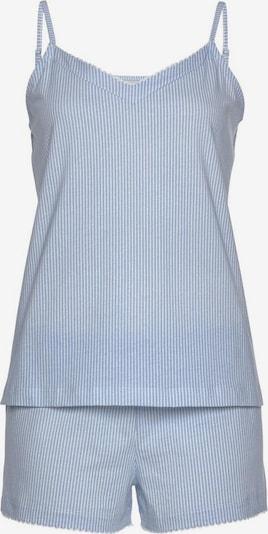 Pijama VIVANCE pe albastru cer / alb, Vizualizare produs