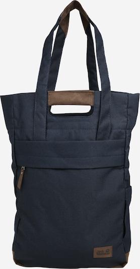 JACK WOLFSKIN Shopper torba 'Piccadilly' u noćno plava / smeđa, Pregled proizvoda