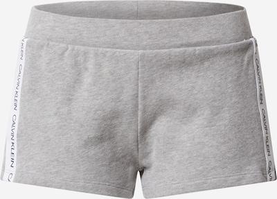 Calvin Klein Swimwear Spodnji del pižame | siva / bela barva, Prikaz izdelka