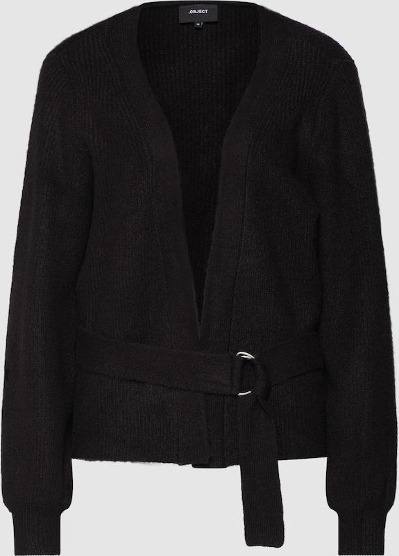OBJECT Cardigan in schwarz  Neu in diesem Quartal