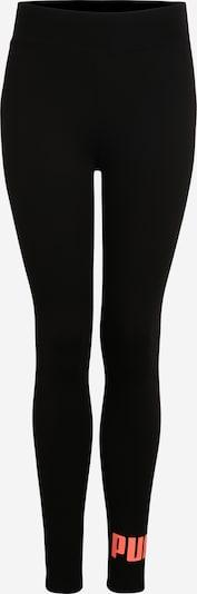 PUMA Pantalon de sport 'ELEVATED' en orange / noir, Vue avec produit