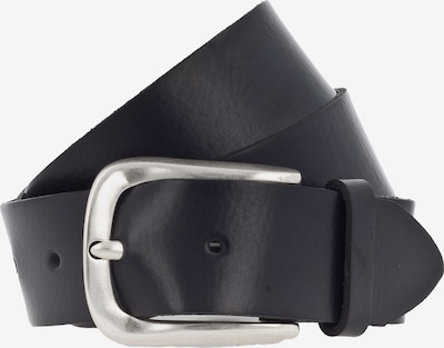VANZETTI Gürtel in schwarz / silber, Produktansicht