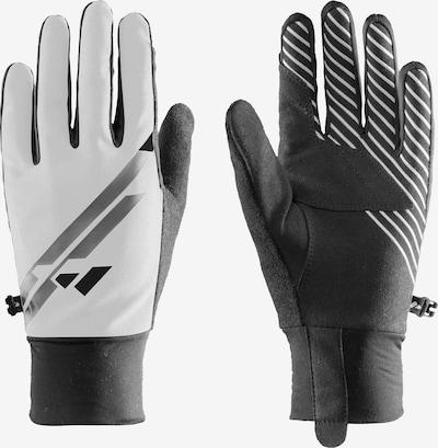 Zanier Handschuhe in schwarz / weiß, Produktansicht