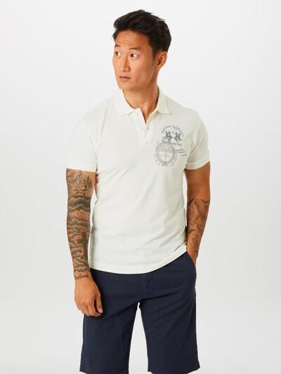 La Martina Shirt 'QUITO' in de kleur Wit: Vooraanzicht