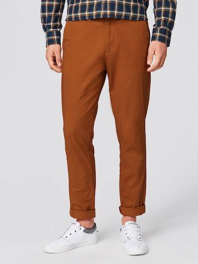Chino stiliaus kelnės 'YARD PANTS' iš SELECTED HOMME , spalva - ruda, Modelio vaizdas