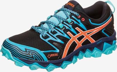 ASICS Laufschuh 'GEL-FujiTrabuco 7 G-TX Trail' in blau / orange / schwarz, Produktansicht