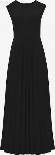 faina Avondjurk in de kleur Zwart: Vooraanzicht