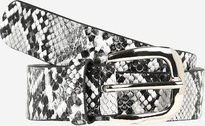 ABOUT YOU Gürtel 'Delia' in hellgrau / schwarz / weiß, Produktansicht