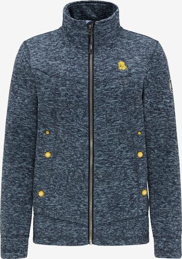 Schmuddelwedda Fleece jas in de kleur Duifblauw, Productweergave