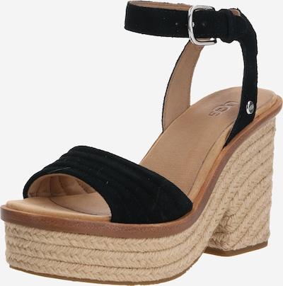UGG Sandalen met riem 'LAYNCE' in de kleur Beige / Zwart, Productweergave