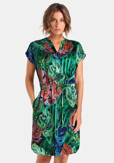 Peter Hahn 'Kleid' in grün / mischfarben, Modelansicht
