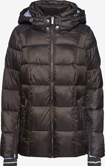 STREET ONE Jacke '2in1 feminin padded jacket' in oliv, Produktansicht
