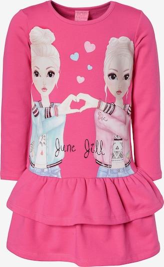 TOP MODEL Kleid in dunkelpink, Produktansicht
