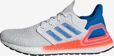 ADIDAS PERFORMANCE Laufschuh 'Ultraboost 20' in blau / orange / offwhite, Produktansicht