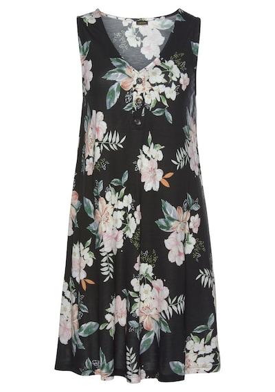 LASCANA Kleid in mischfarben / schwarz, Produktansicht