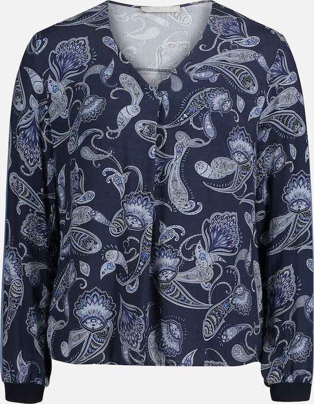 Betty & Co Bluse in blau, Produktansicht