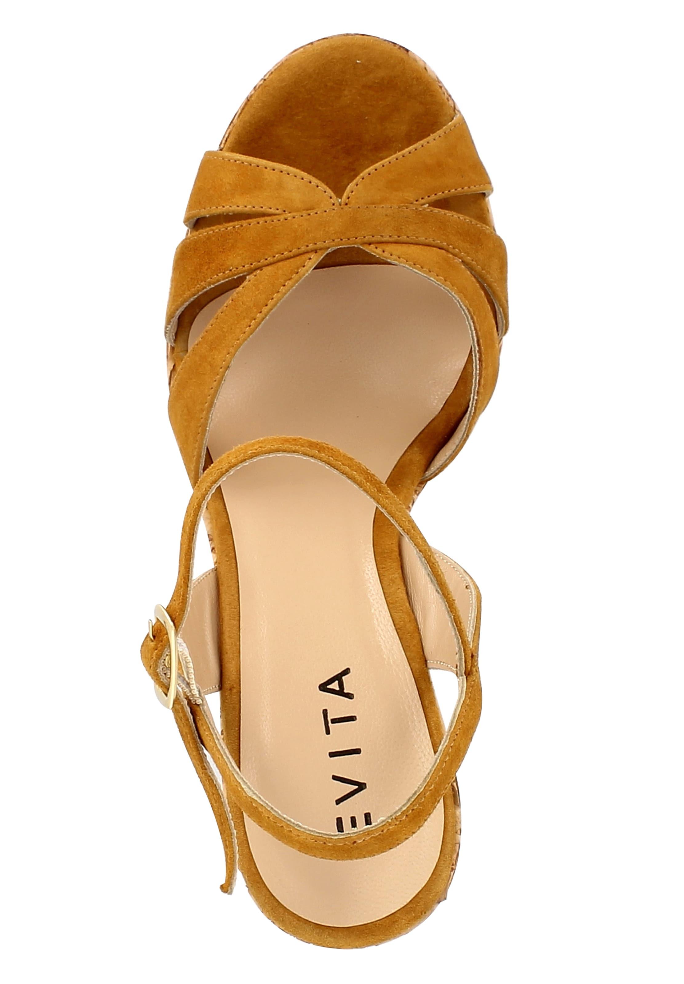 EVITA Damen Sandalette Kostenloser Versand Kddbs