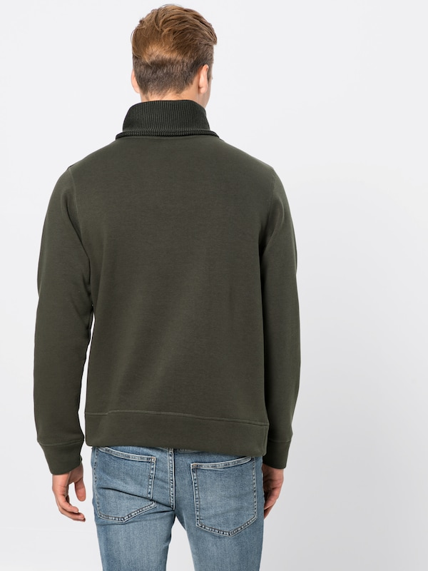 'jcojan Jones En Neck' Foncé Sweat Vert Sweat Jackamp; Shawl shirt Y2WEDIeH9