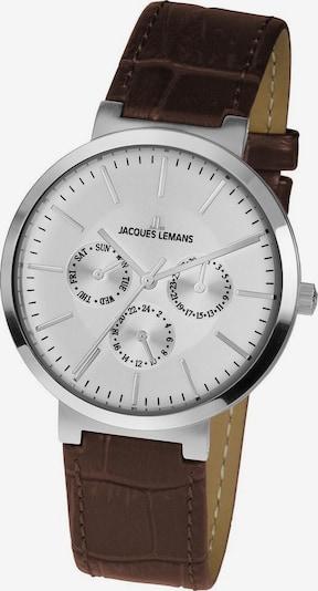 Jacques Lemans Uhr 'Milano, 1-1950B; in dunkelbraun / silber, Produktansicht