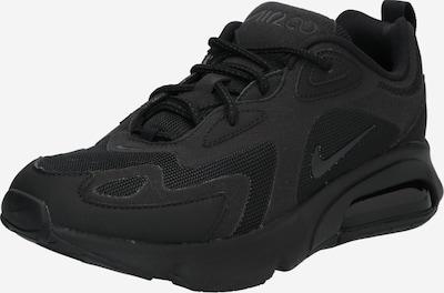 Nike Sportswear Baskets basses 'AIR MAX 200' en noir, Vue avec produit