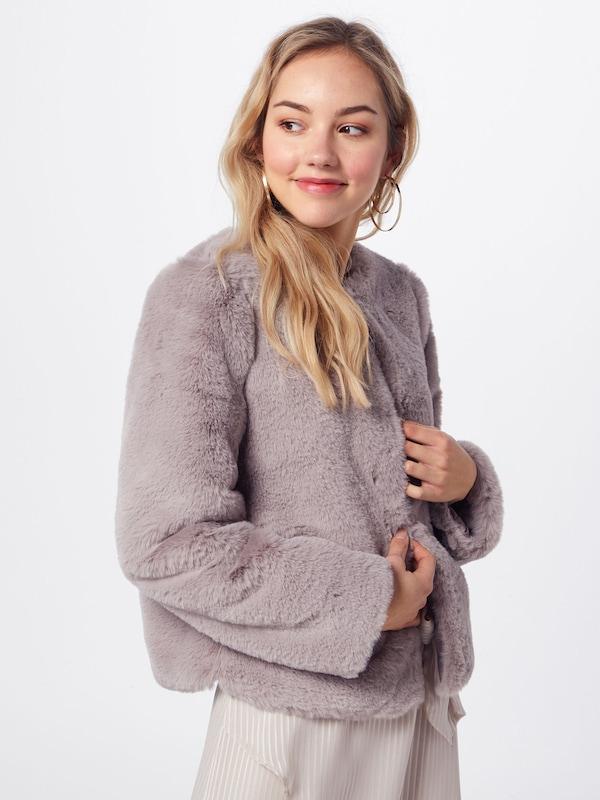 Winterjas London Fur' In Grijs Chi 'fake 8n0mNw