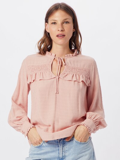 Superdry Bluse 'DANIKA BOHO TOP' in rosa, Modelansicht