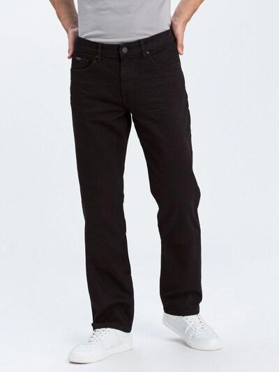 Cross Jeans Straight Leg Jeans 'Antonio' in schwarz, Modelansicht