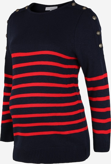 Envie de Fraise Sweater 'GASPARD' in Navy / Red, Item view