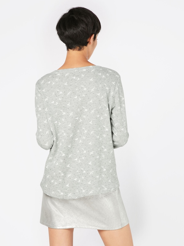 TOM TAILOR Sweatshirt 'printed sweatie'