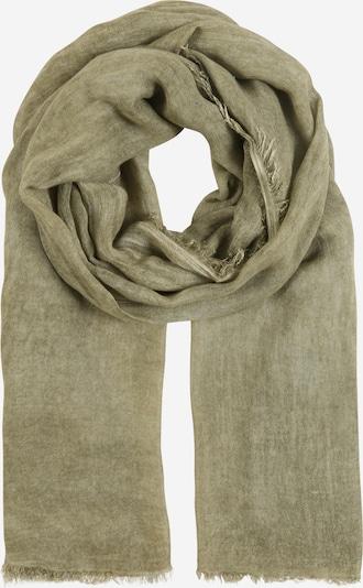 Zwillingsherz Schal in khaki, Produktansicht