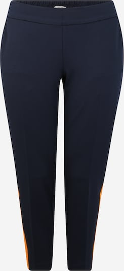 Pantaloni MY TRUE ME pe albastru noapte / portocaliu, Vizualizare produs