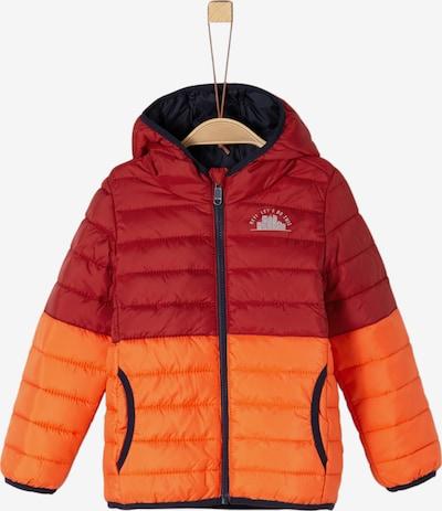 s.Oliver Junior Jacke in orange / rot: Frontalansicht