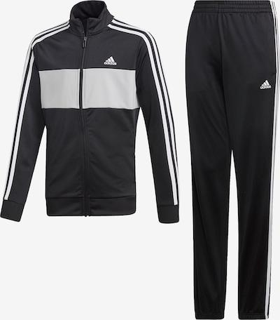 ADIDAS PERFORMANCE Trainingsanzug 'Tiberio' in schwarz / weiß, Produktansicht