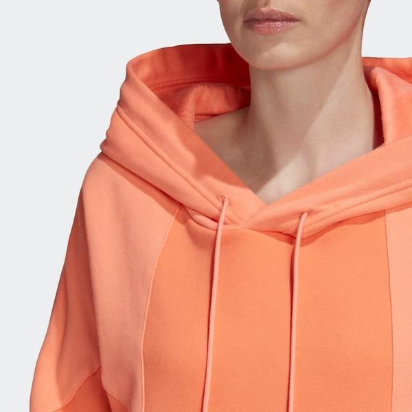 ADIDAS ORIGINALS Sweatshirt in Hellorange Orange | ABOUT YOU