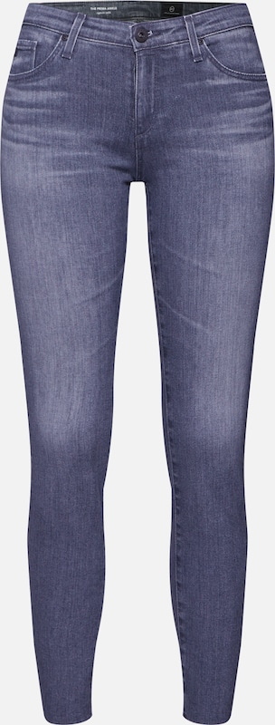 AG Jeans Hose 'Prima Ankle' in grau, Produktansicht