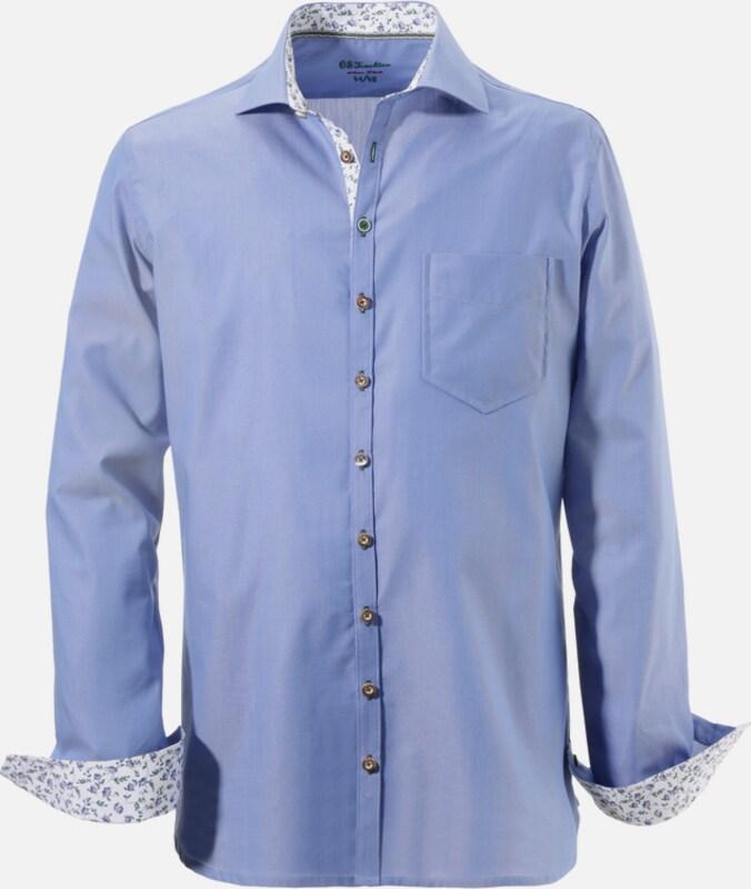 OS-TRACHTEN Trachtenhemd mit Struktureffekt