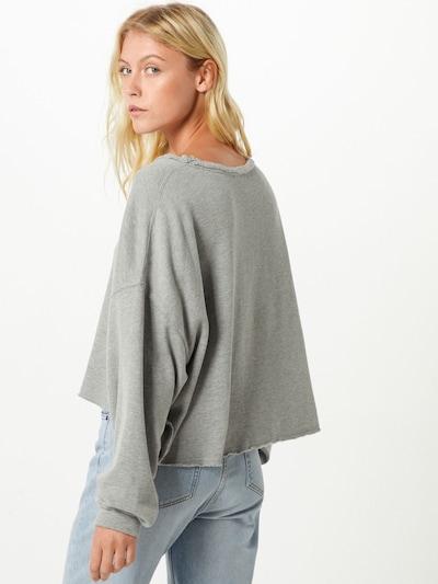 Megztinis be užsegimo iš AMERICAN VINTAGE , spalva - šviesiai pilka: Vaizdas iš galinės pusės