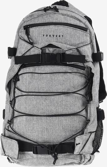Forvert Backpack 'New Louis' in grau / schwarz, Produktansicht