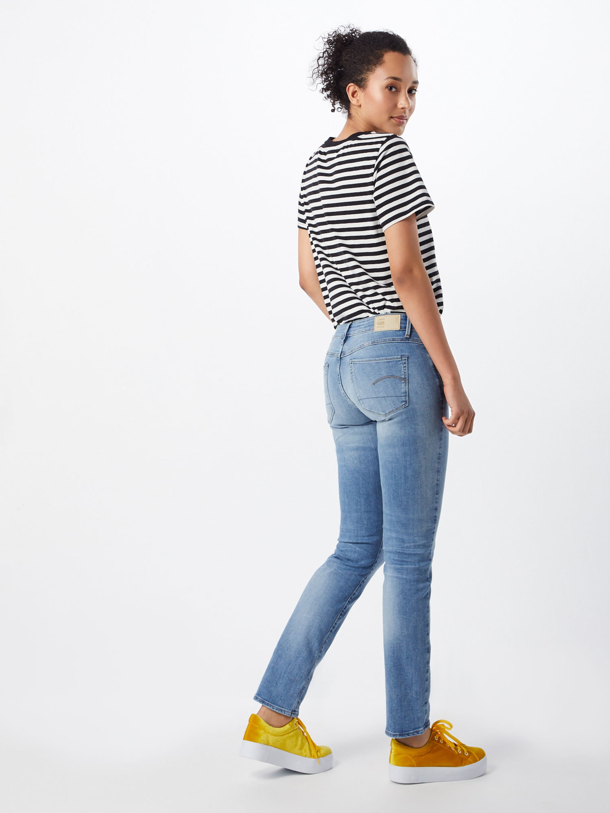 In Denim Jeans Raw G Blue star K1JlF3Tc